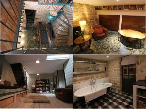 cuisine en sous sol une cuisine salle à manger une chambre et une salle de bains dans le sous sol maisonapart