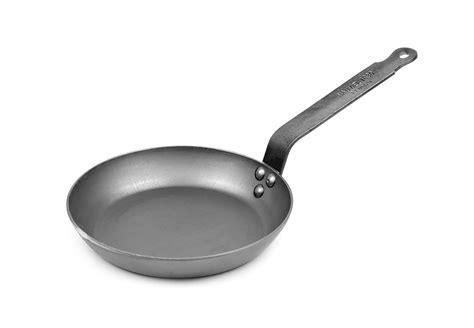 mauviel msteel carbon steel skillet  cutlery