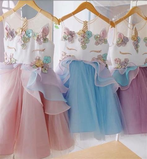 unicorn birthday dress