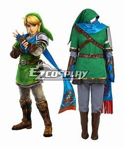The Legend of Zelda Hyrule Warriors Link Cosplay Costume