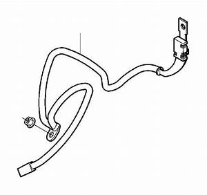 2008 Volvo C30 Battery Cable  Long Cable Shoe B   Short