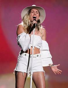 MILEY CYRUS Performs at 2017 Billboard Music Awards in Las ...
