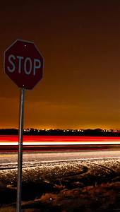 iphone 5 wallpapers hd: stop signs iphone 5 wallpaper