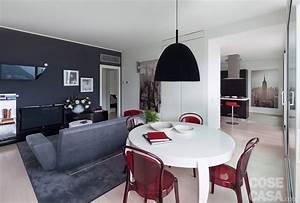 In meno di 100 mq una casa moderna con geometrie a 3 colori Cose di Casa