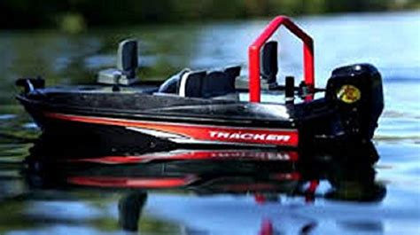 Bass Pro Shop Rc Fishing Boat by Bear River Bass Pro Black Remote Control Fishing Boat