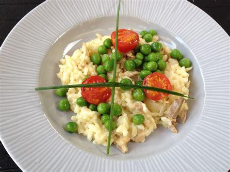 cuisiner petits pois frais recette les secrets du risotto