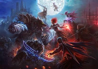 Vampires Fantasy Werewolves War Wallpapers Werewolf Games