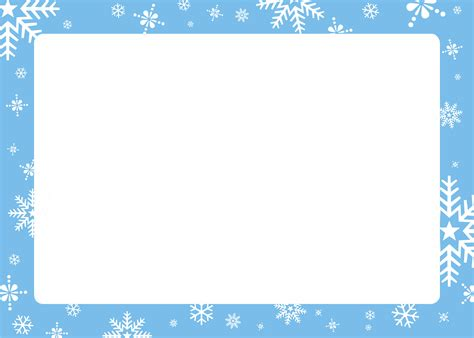 christmas picture border frames create holiday