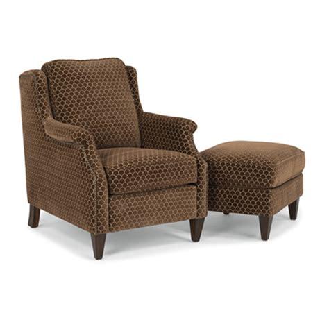 Cheap Fabric Ottomans by Flexsteel 5633 10 08 Zevon Fabric Chair And Ottoman