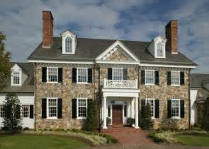 colonial homes period colonial home exterior philadelphia by dewson construction company