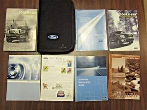 Details About 2009 Ford F 150 F150 Owners Manual Service