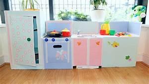Kreative Ideen Aus Karton Kinderkche Selber Bauen