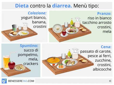 alimenti da non mangiare dieta contro la diarrea cosa mangiare quali alimenti