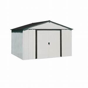 Arrow Galvanized Steel Storage Shed (Common: 10