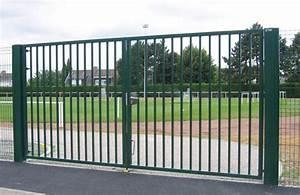 Portail Battant 5 Metres : portail 6 metres 2 vantaux portail en fer 4m maison infos ~ Nature-et-papiers.com Idées de Décoration
