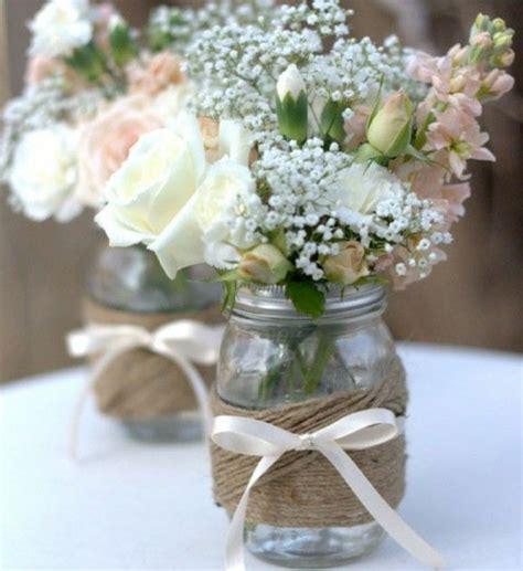 Blumen Hochzeit Dekorationsideenblumen Fuer Hochzeit Deko by 54 Dekos F 252 R Eine Romantische Diy Hochzeit Archzine Net