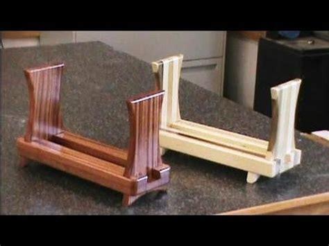 sliding dovetail magazine rack youtube