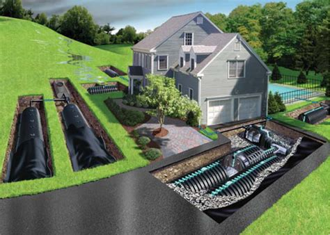 property drainage solutions drainage systems drainage contractors in nj curb appeal design llc landscape and masonry