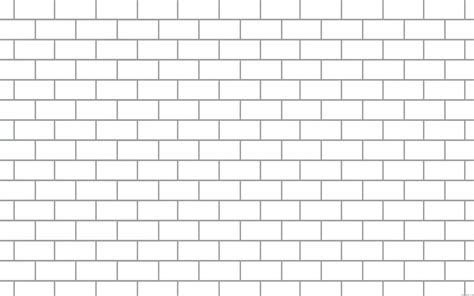 genuine brick coloring page printable wall outline isms
