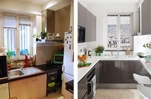 Avant après : comment aménager une petite cuisine ? Darty & Vous
