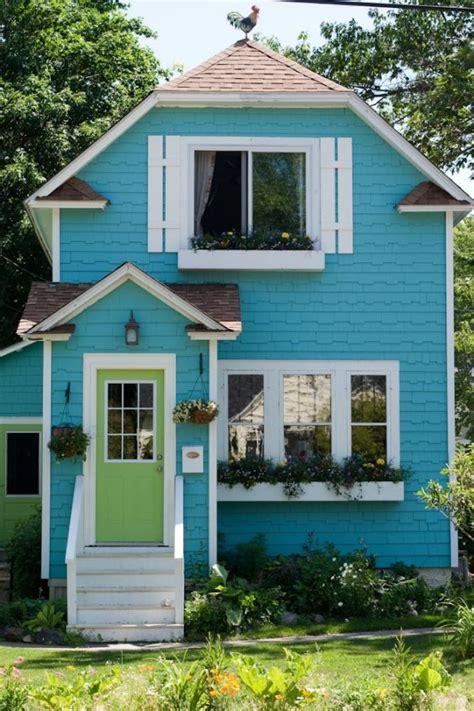 Cute Blue Houses Abandoned Cute Little Blue House, Tiny