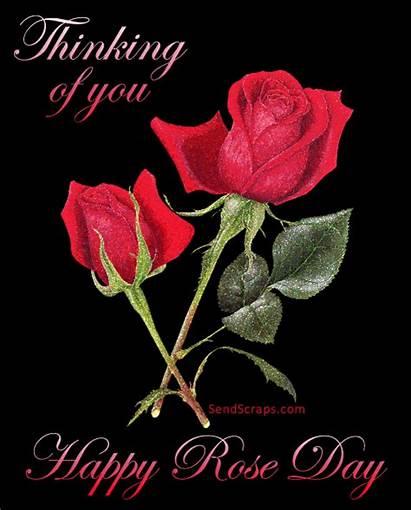 Happy Rose Roses Glitter Whatsapp Gifs 3d