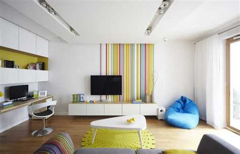 modern interior design  decor  minimalist style jazzed   pop art energy
