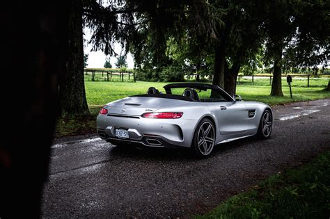 review  mercedes amg gt  roadster car