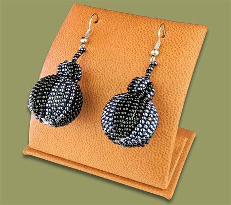 Bobble Earrings earrings bobble bobble earrings black metallic