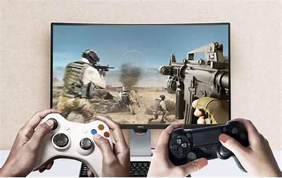 Gaming Xbox Monitor Ps4 Monitors Pro Setup