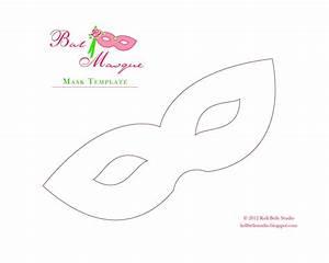 Kell Belle Studio  Carnival Style Paper Mask