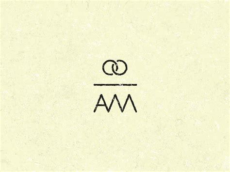 simple wedding logo  initials  mathias temmen  dribbble