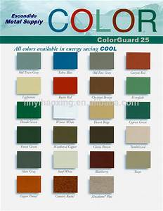 high quality color steel roof tilecolor roof philippines With color steel roofing price list