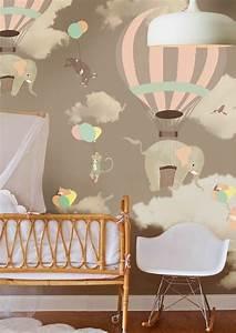 tapeten kinderzimmer passende farben und motive auswahlen With balkon teppich mit tapete baby