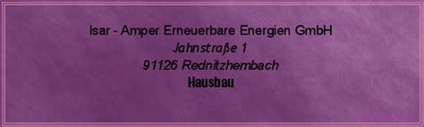erneuerbare energien hausbau isar er erneuerbare energien gmbh in rednitzhembach