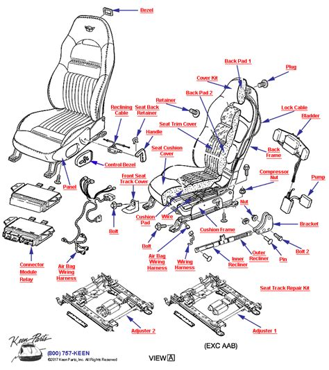C5 Corvette Power Seat Wiring Diagram by Keen Corvette Parts Diagrams