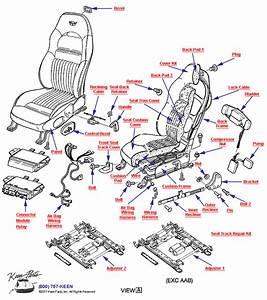 C5 Corvette Interior Parts Diagram