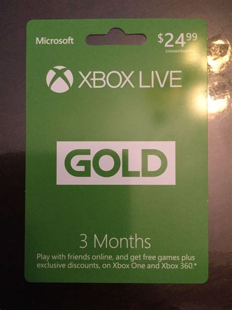 Xbox Live And Xbox Live Gold Buy Xbox Live Gold 3 1 Month Region Free Limited Time