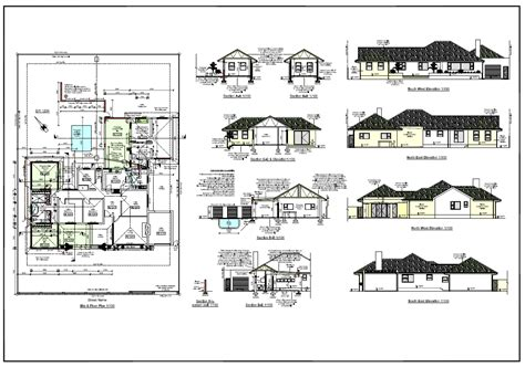 ranch home designs floor plans architectural design of house plan
