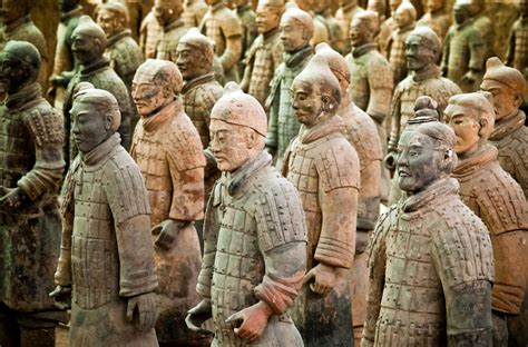 terra cotta warriors ruminating