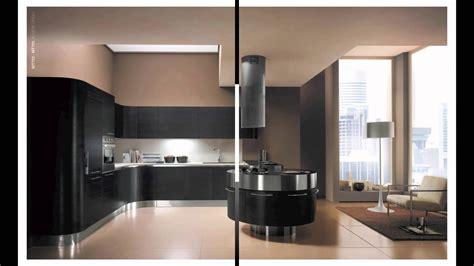 cuisine design futuriste exemple de cuisine italienne de luxe ronde haut de gamme