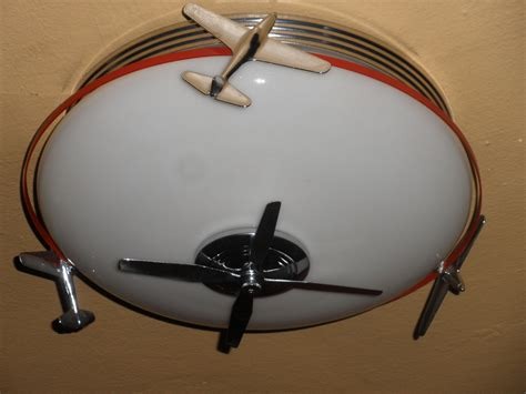 airplane art deco light fixture collectors weekly