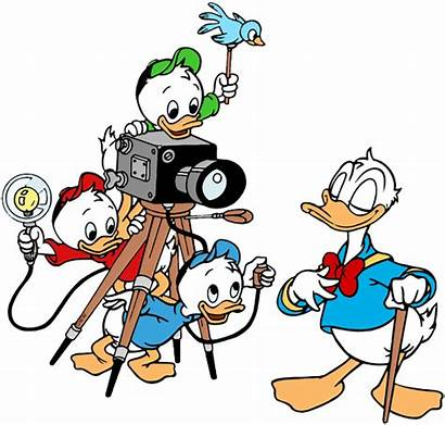 Mickey Friends Clip Donald Disneyclips Louie Huey
