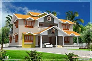 2700 sqfeet beautiful dream home design kerala home for My dream home design