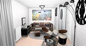 Papier Peint Style Industriel : tapis d corateur d 39 int rieur tapis chic le blog ~ Dailycaller-alerts.com Idées de Décoration