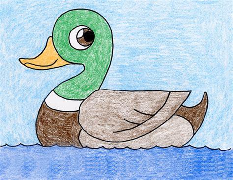draw  duck art projects  kids