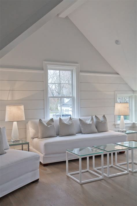 Shiplap Interior Walls by White Shiplap Interior Wall Which Paint Finish
