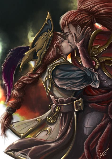 Yasuo & Miss Fortune  Lol Wallpapers