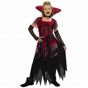 Déguisement Enfant Halloween : d guisement vampiresse gothique halloween enfant 5 6 ans achat vente d guisement ~ Melissatoandfro.com Idées de Décoration
