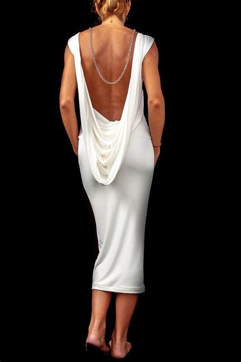 25 Best Ideas About Backless White Dresses On Pinterest